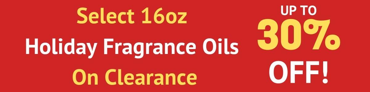 CLEARANCE FRAGRANCE OILS