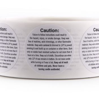 Warning/ Caution Labels (Small Container)
