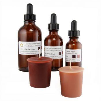 Brown/Tan Liquid Dye