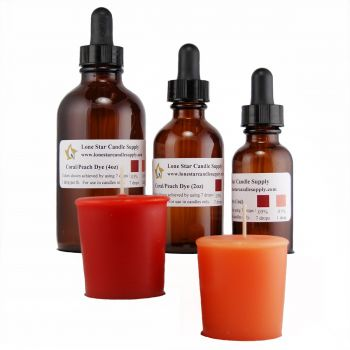 Coral/Peach Liquid Dye