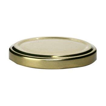 Metal Twist Lid Gold #63