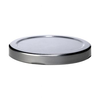 Metal Twist Lid Silver #63