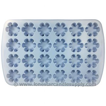 Silicone Snowflake Mold - 24 count
