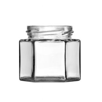 Hexagon Jar 4oz