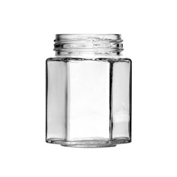 Hexagon Jar 6.5oz