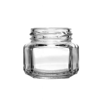Oval Hexagon Jar 1.5oz