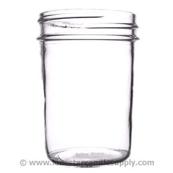 Smooth Sided Jelly Jar 8oz