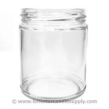 Straight Sided Round Jar 9oz
