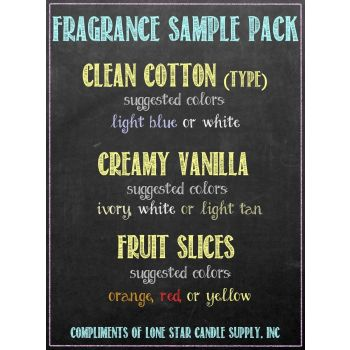 Sample 1oz Fragrances (3 Pack)