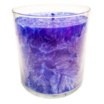 IGI R2322A Glass Glow Palm Container Wax