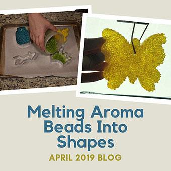Melting Aroma Beads Into Shapes