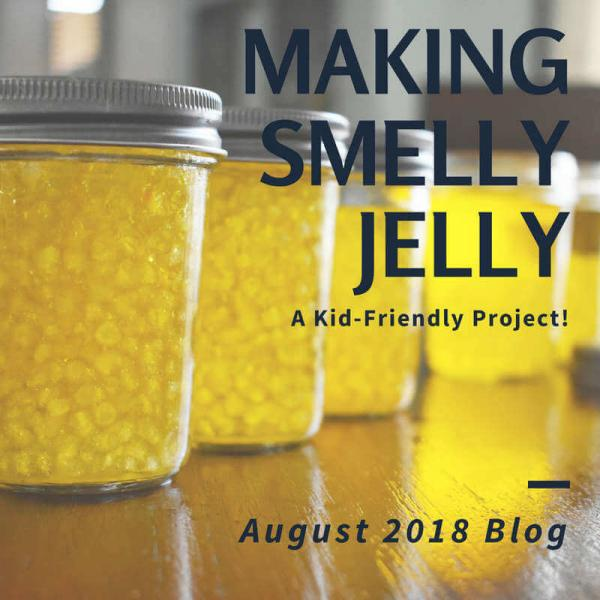 Making Smelly Jelly - A Kid Friendly Project!
