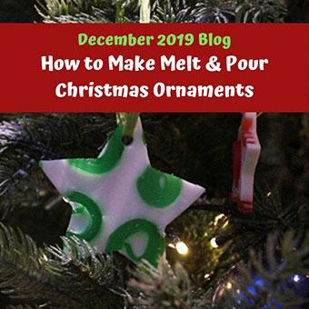 How to Make Melt & Pour Christmas Ornaments