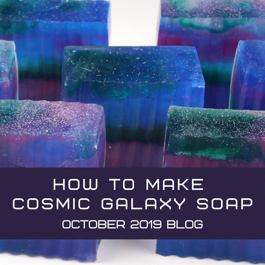 How to Make Cosmic Galaxy Soap