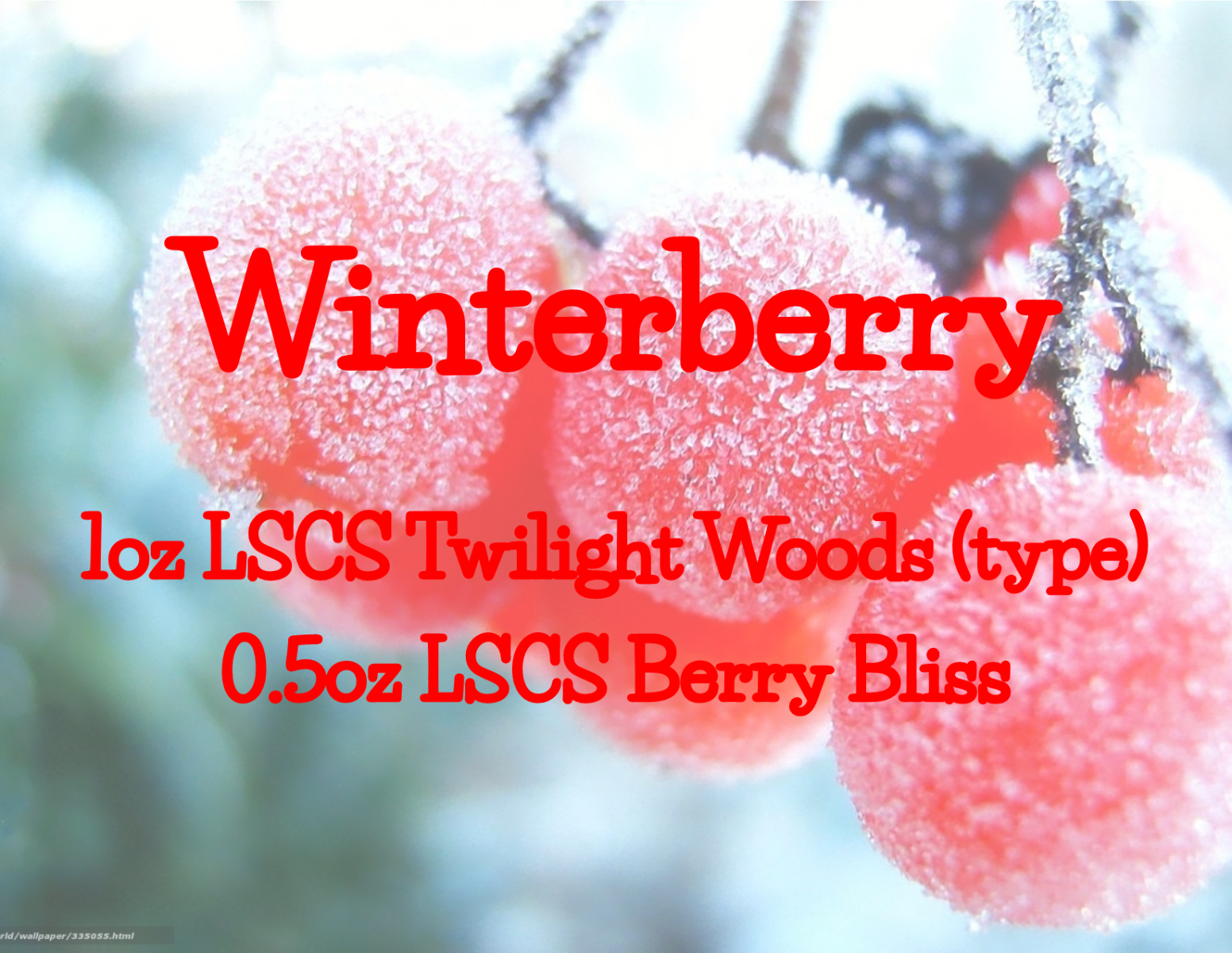 Winterberry Recipe